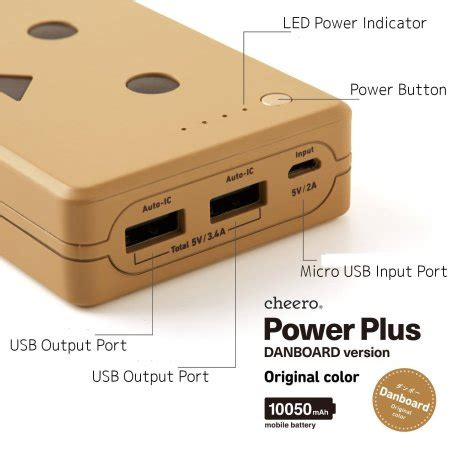 Berapa Power Bank Robot robot power bank portable charger 10 050mah mocha brown
