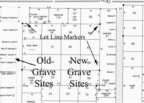 funeral phlet template cemetery surveying mapping roberge associates land