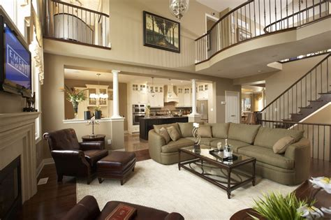 Paint Ideas For Living Room With High Ceilings Decorating A Large Living Room With High Ceilings Conceptstructuresllc