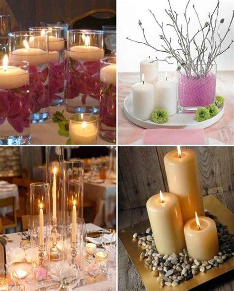 adornos de mesa para bodas con velas centro de mesa con velas 15 a 241 os pinterest centros