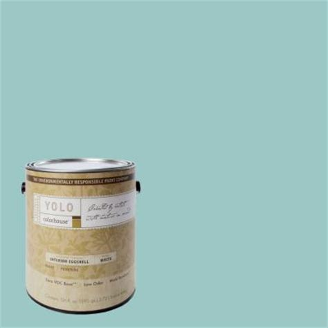 home depot yolo paint yolo colorhouse 1 gal 04 eggshell interior paint