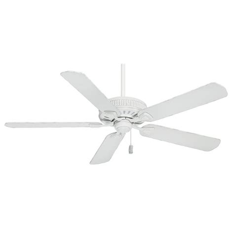 Cottage Ceiling Fans by Shop Casablanca Ainsworth 60 In Cottage White Downrod Or
