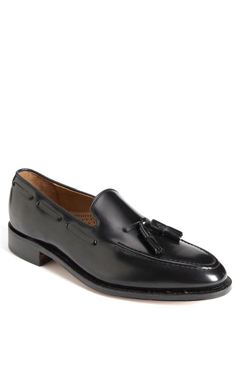 johnston murphy loafer johnston murphy melton tassel loafer in black for