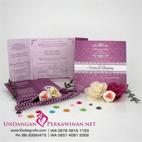 cetak undangan pernikahan  bekasi undanganperkawinan