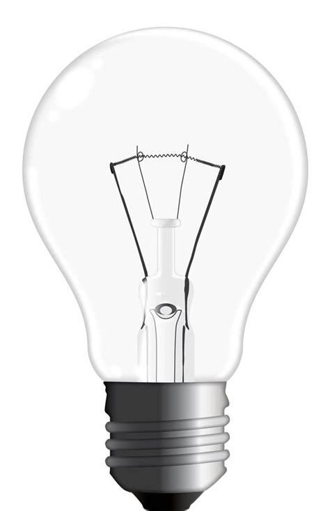 how to draw a realistic vector light bulb from scratch