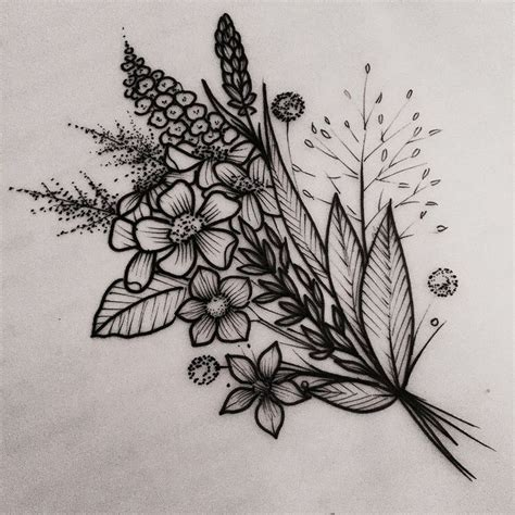 flower tattoo designs pinterest best 25 flower tattoos ideas on