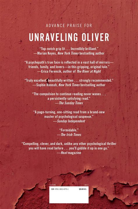 unraveling oliver book by liz nugent official