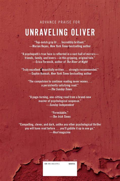 unraveling oliver book by liz nugent official