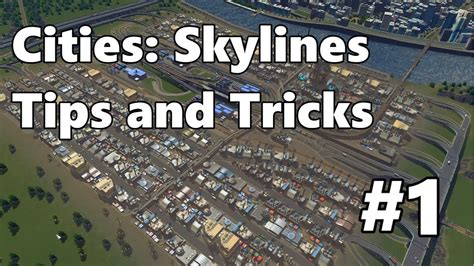 industrial zone layout cities skylines cities skylines tips and tricks 1 efficient