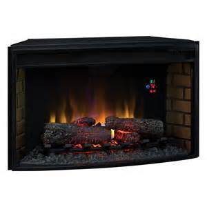 curved fireplace inserts classic 32 in curved electric fireplace insert with backlit display fireplace inserts