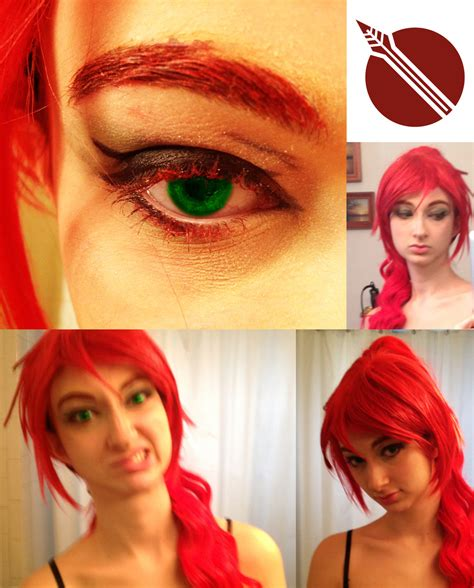 hair and makeup quiz pyrrha nikos hair and makeup test by draconiceye on deviantart