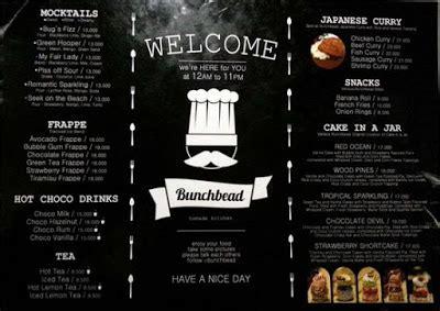 desain daftar menu unik 10 daftar menu cafe gaul unik keren dan sederhana di dunia