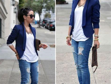 Dress Wanita Semi Navy 46 trendy ideas for combining blazer with blazers