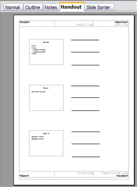 handout templates creating handouts apache openoffice wiki