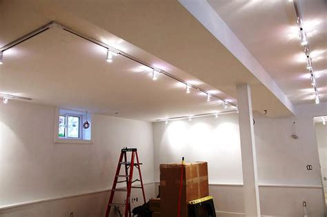 Light Fixtures For Basement Basement Lighting Ideas 3 Effective Types