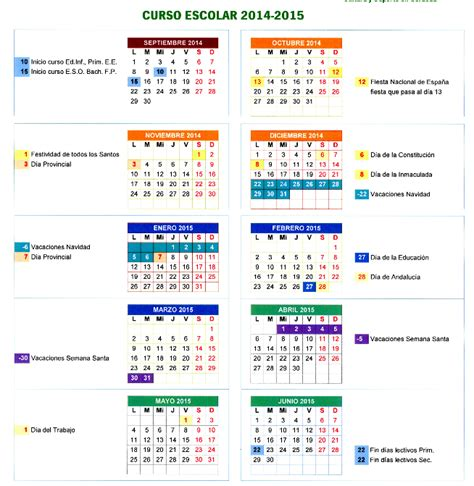 Calendario Escolar Madrid 2014 15 Pdf Calendario Escolar 2014 15 Madrid Imagui