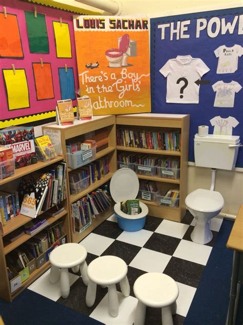 book themes ks2 there s a boy in the girls bathroom book corner ks2 book