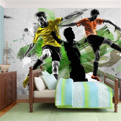 Superbe Papier Peint Chambre Garcon #6: .football_papier_peint_decor_mural_foot_pour_chambre_enfant_et_ado_m.jpg