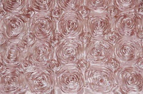 pink rosette table runner blush rosette satin table runners