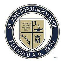 St John Bosco High School Wikipedia Seal St Template