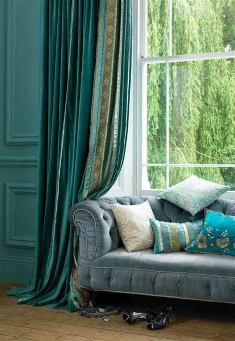 Turquoise Curtains For Living Room by Turquoise Living Room Curtains And Drapes Bedding