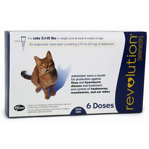 revolution for puppies kittens 5 lbs revolution for cats 5 1 15 lbs 6 mnth