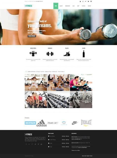Themes Wordpress Fitness | gym fitness themes wordpress themes mythemes4wp