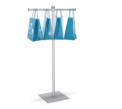 Bag Holder Stand by Trade Show Bag Stand With Base Trade Show Accessories