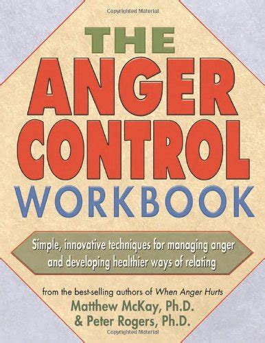 anger management a self discovery workbook books self help books anger management workbooks self help