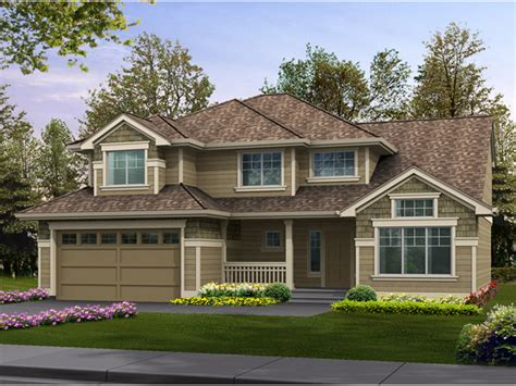 simple two story house small two story narrow lot house patterson woods craftsman home plan 071d 0049 house