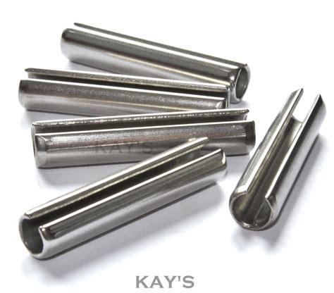 Brooch Stainless Steel 15 sellock pins split tension roll pin a2 stainless steel m2 m3 m4 m5 m6 m8 ebay