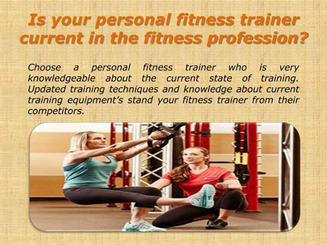 Personal Trainer Questions by Ppt Questions To Ask Before Hiring A Fitness Trainer Areyo Dadar Powerpoint Presentation