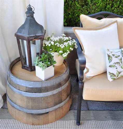 10 ways of using barrels in home decor interiorholic