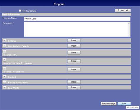 Search Programs Program Search