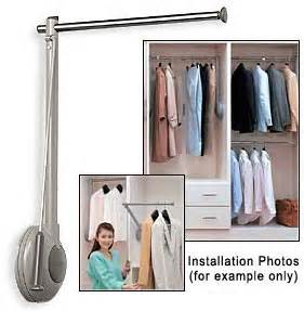 Closet Rod Lift Mechanism by Sugatsune Tas 800l G Tallman Single Closet Rod Lift