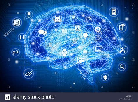 iq le electric circuit brain stock photos electric circuit