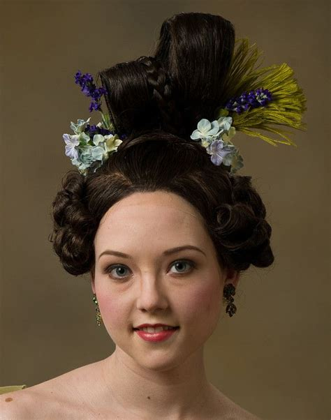 hairstyes in the 1830s 33 best 1830s 1840s hair images on pinterest hair dos
