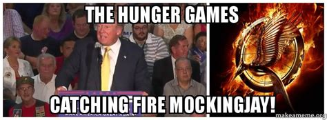 Catching Fire Meme - the hunger games catching fire mockingjay make a meme