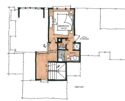 design elements shoo shoo fly cabin home plan by natural element homes