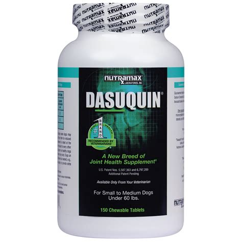 small to medium dogs dasuquin for small to medium dogs 150 chewable tabs