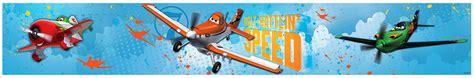 bordure kinderzimmer disney bord 252 re disney planes flugzeug dusty jungenzimmer