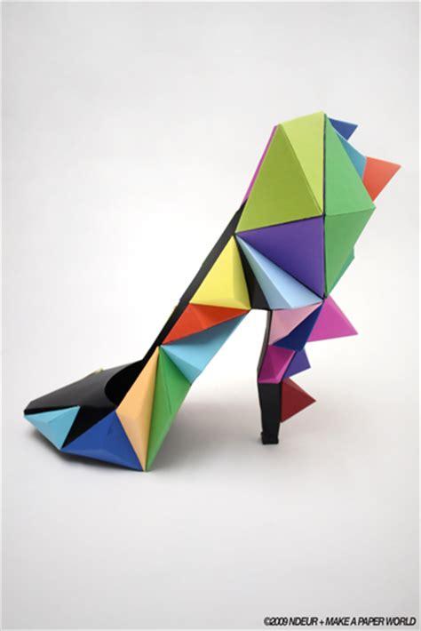 Shoe Origami - shoes part 1 origami shoes dezign