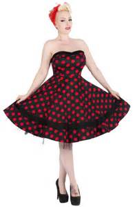 Modern pinup beautiful 40s and 50s style dresses pinup