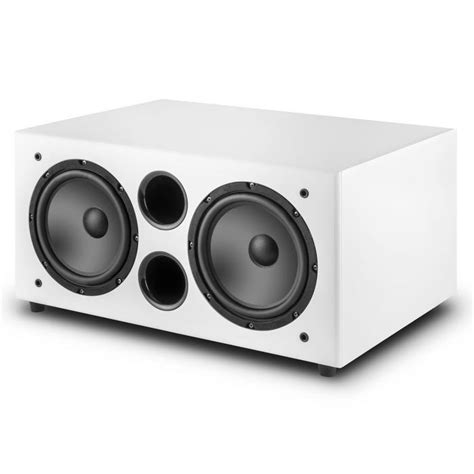 linie sw wh active subwoofer   white
