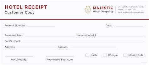 121 Receipt Templates Doc Excel Ai Pdf Free Premium Templates Free Hotel Receipt Template