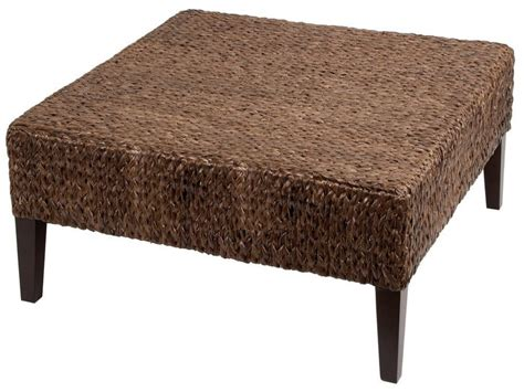 wicker storage ottoman coffee table coffee table rattan coffee table ottoman wicker side