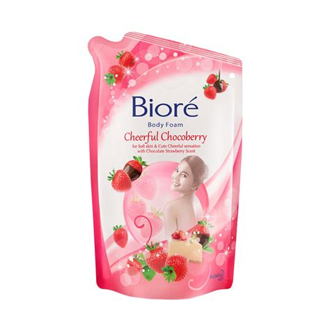 Sabun Biore jual daily deals biore cheerful chocoberry pouch