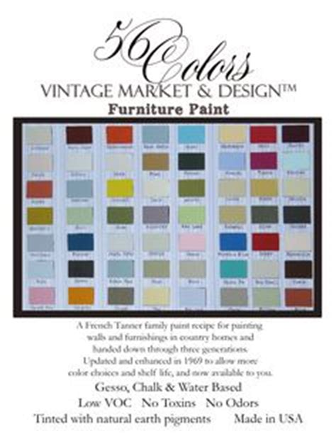 where to buy vintage market design furniture paint on color charts and vintage