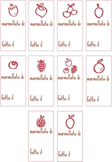 liquori fatti in casa pdf le etichette ed il copribarattolo per le marmellate