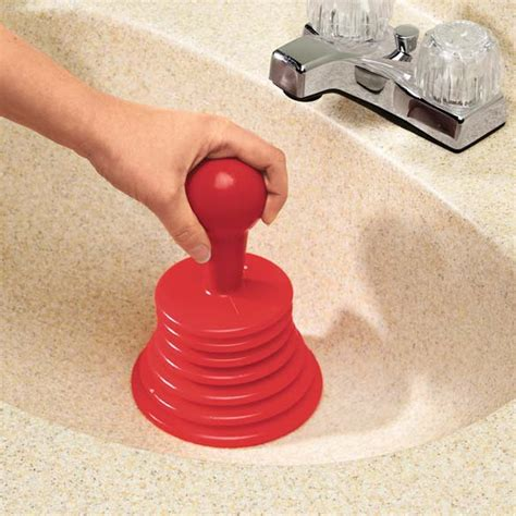 plunger kitchen sink drain images